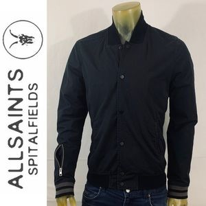 AllSaints Italian Cloth Bomber Jacket